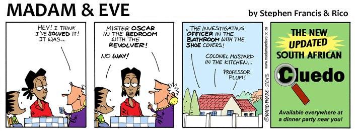 Eve comic strip