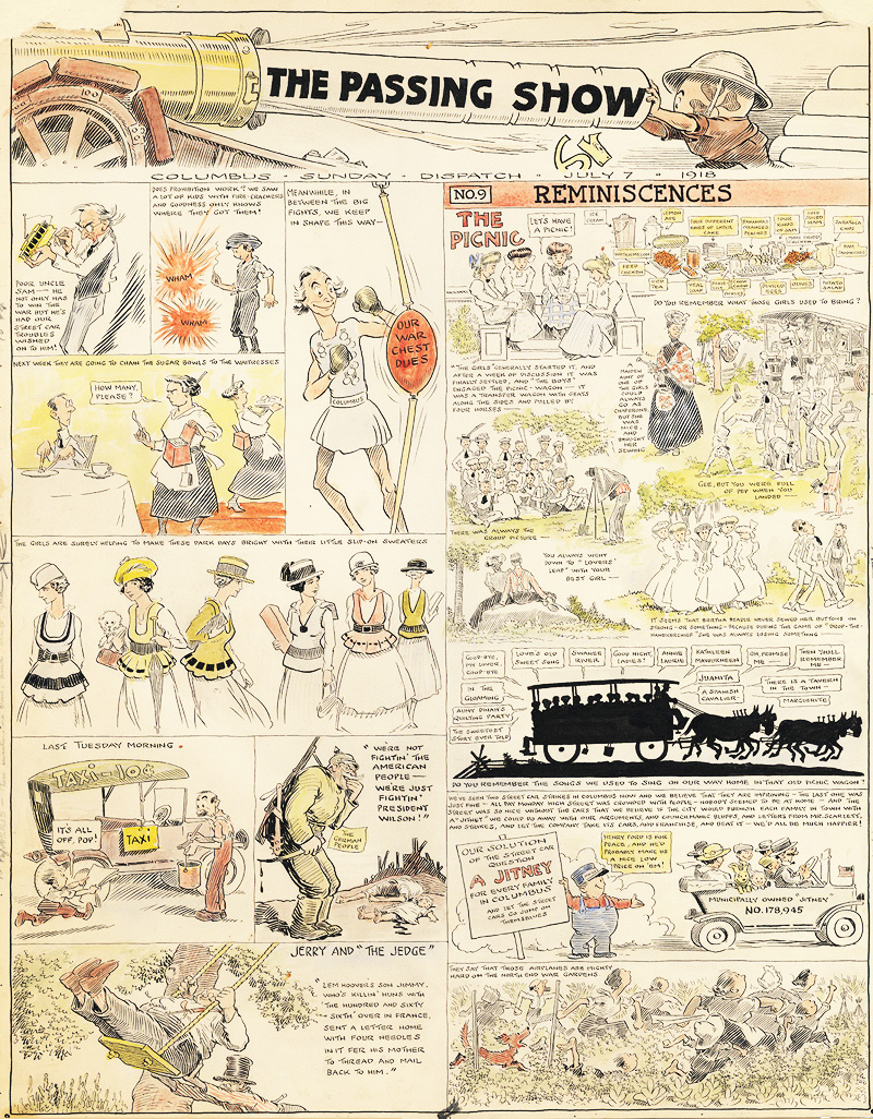 Ireland passshow7-7-1918