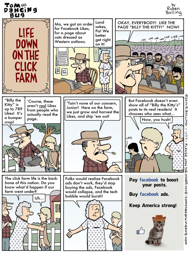 strips comics Farm lesson