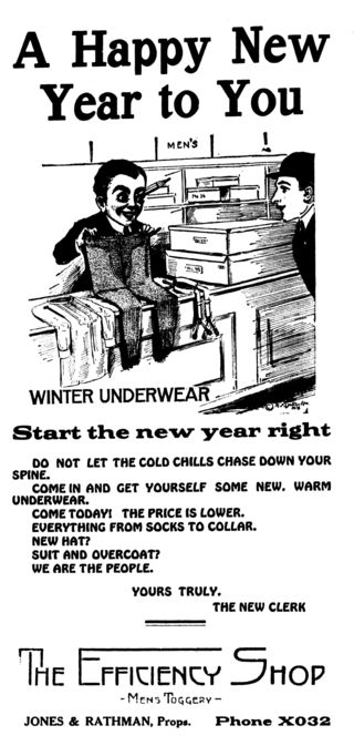 Lynden Tribune underwear