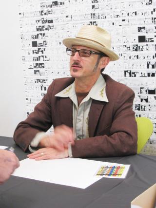 Piraro at Schulz Sept2010