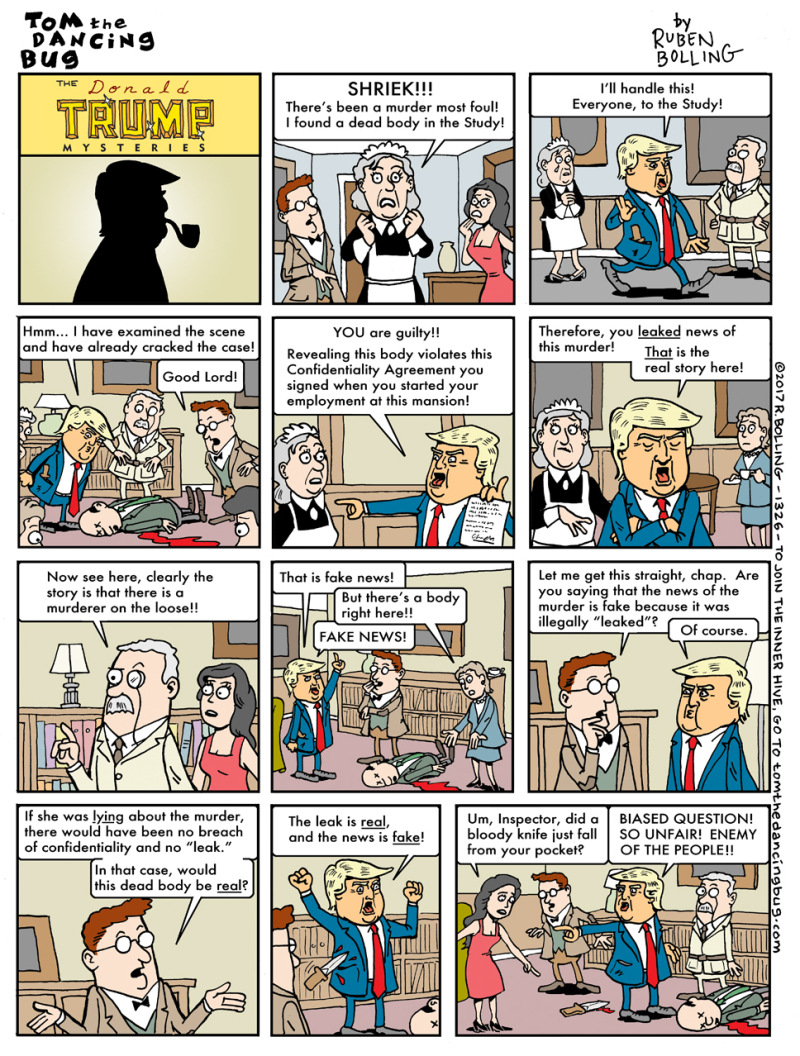 1326cbCOMIC-trump-mysteries-leaks-are-real-news-is-fake