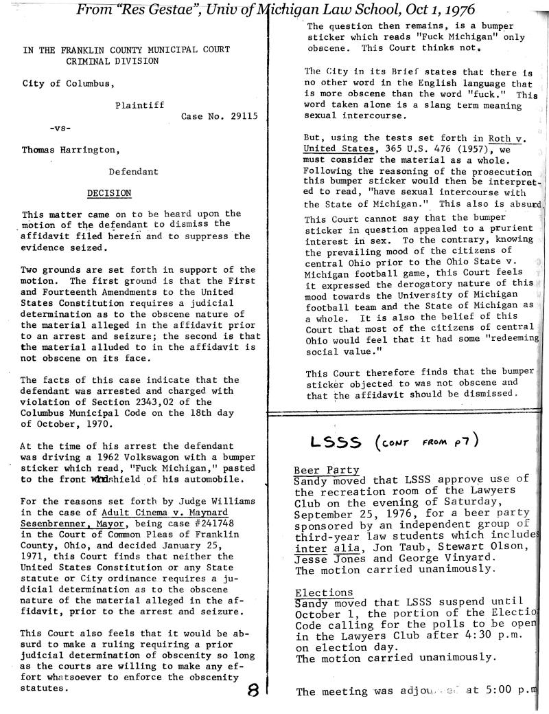 October 1 1976-10