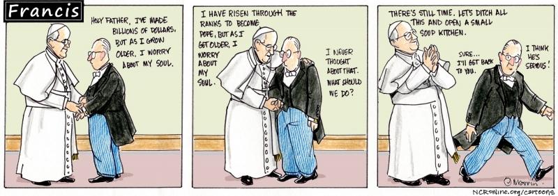 Francis, billionaire