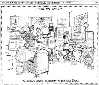 SL Herald coal cartoon