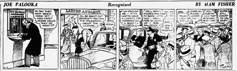 Palooka strip