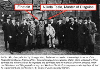 Tesla master of disguise