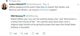 Mitchell tweet