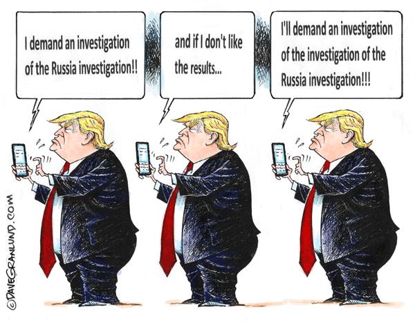 Trump-wants-Russia-probe-probed